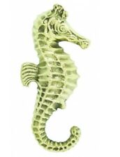 Decorative Seahorse Door Hardware Beach Nautical Sea Door Knocker Polished Brass