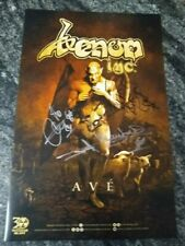 Venom Inc. Autographed poster + Ave cd black metal Abaddon mantas