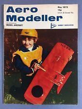 AERO MODELLER - May 1972 - Vintage Model Aircraft Magazine, F.A.I Team Racer