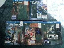 Dc Batman Harley Teen Titans Best Buy Exclusive Figurine Blu-Ray Sealed Lot of 5