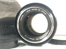 [Excellent+++++] Canon FD 55mm f/1.2 MF Manual Focus Lens from JAPAN SK285