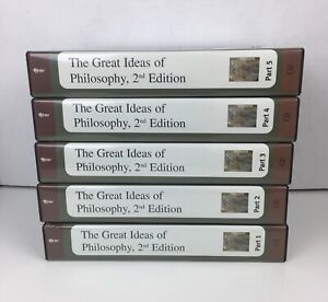 The Teaching Company The Great Ideas of Philosophy 2nd Edition CD's & Booklets