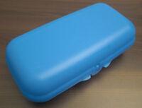 Tupperware A 46 Maxi Twin MaxiTwin Brotdose Pausendose Dose Blau Neu OVP