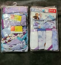 Disney Frozen 2 Underwear size 14 Cotton Panty Girls Size 4T Multicolor NIP