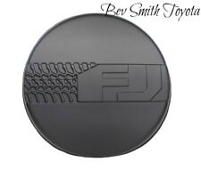 NEW OEM TOYOTA FJ CRUSIER SPARE TIRE COVER MODELS WITHOUT BACK UP CAMERA