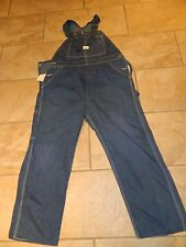 1980's Sears Roebuck & Co 100 % Cotton Bib Overalls / Size 40x29 used