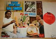 HAL SINGER ~ PARIS SOUL FOOD ~ FRENCH FRANCE JAZZ FUNK LP 1969