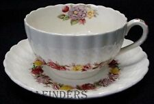 SPODE china ROSE BRIAR 2/7896 pattern CUP & SAUCER Set Cup 2""