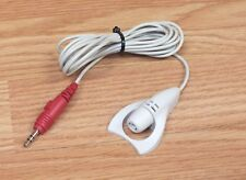 Genuine Vintage Telex (D395893) Long Off White Corded Microphone Only **READ**