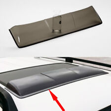 1X Roof Window Skylight Sunroof Rain Eyebrow Cover For Mitsubishi Pajero Sport