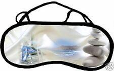 Masque de sommeil cache yeux anti lumière fatigue zen personnalisable REF 46