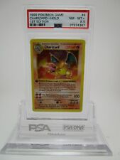 PSA 8.5 NM-MT+ Charizard Shadowless 1st Edition Base Pokemon Card 4/102      B36