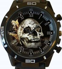 Reloj Pulsera cráneo Gótico Nuevo Deportivo GT Series rápido de Reino Unido Vendedor