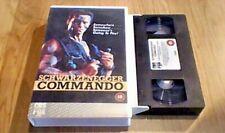 COMMANDO CBS/FOX UK PAL VHS BIG BOX VIDEO 1986 Schwarzenegger James Horner