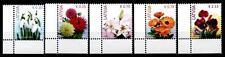 Blumen. 5W. Eckrand (3). Lettland 2015