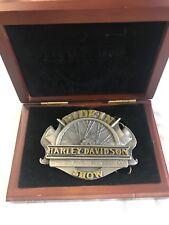 1997 Harley Davidson Dayton Bike Week Ride In Show Buckle W Box
