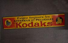KODAK PATHE SIGN, PORCELAIN, ABOUT 78.5 INCHES LONG/cks/211000