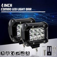"2X 36W 4""inch Combo LED Work Light Bar Spot Off road ATV Truck Driving Fog Lamps"