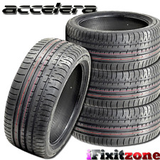 4 Accelera PHI-R 245/45ZR18 100Y XL Ultra High Performance Tires 245/45/18 New