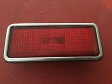 Alfa Romeo spider /fiat spider side Rear marker light red