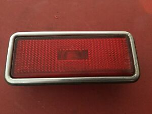 Alfa Romeo spider /fiat spider side Rear marker light red