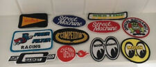 Automotive Hot Rod - embroidered cloth patches-Wholesale lot of 11 mixed patches