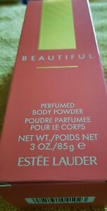 Rare Vintage BEAUTIFUL By Estee Lauder PERFUMED BODY POWDER 3 oz/85 g NEW
