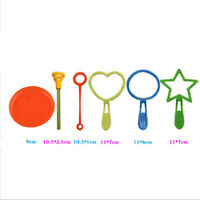 6pcs Kids Summer Blowing Bubble Toys Bubble Sticks Set for Children Outdoor  FT
