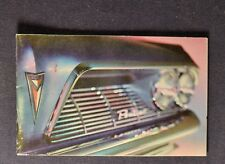 1961 Pontiac Mini Brochure Bonneville Catalina Star Chief Ventura Excellent Orig