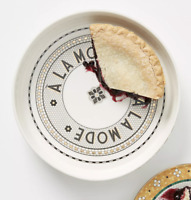 New Anthropologie Bistro Tile A La Mode Pie Dish