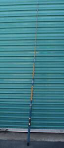 "Vintage Kencor Tenlew Magnaglas 104SFF Fishing Rod 6'11"" 12-30 Lb. Line Rare"