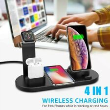 4 in 1 Charging Dock Phone Charger Stand For Apple Watch Series/iPhone Station