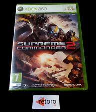 SUPREME COMMANDER 2 Square Enix Xbox 360 PAL-España NUEVO xbox360 Precintado