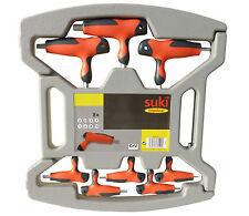 8 Teile Innensechskantschlüssel Set mit 2-K Griff in Box | Sechskant  suki