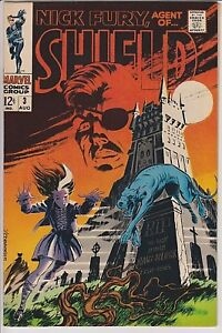 Nick Fury Comics #3 VF/NM BEAUTIFUL,  NICE EYE APPEAL !
