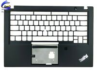 New For Lenovo ThinkPad T490S Upper Case Palmrest Cover With FPR AM1BR000400