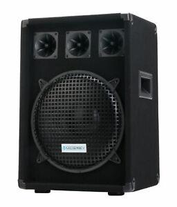 "B-WARE DJ PA Lautsprecher Disco Bass Box 12"" Subwoofer 2-Wege Club System 600W"
