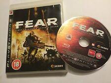 Sony Playstation 3 PS3 Spiel Fear 1/I Erste Begegnungen Assault Recon + Boxed Pal
