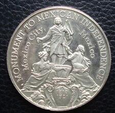 Mexico Medal Silver 150 Anniversario  Mexico See The Medal 1810-1821