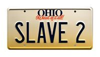 Fanboys | Star Wars | Boba Fett | SLAVE 2 | STAMPED Replica Prop License Plate