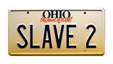 Fanboys | Star Wars | Boba Fett | SLAVE 2 | STAMPED Replica Prop License Plate