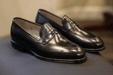 d8acc38f8da Alden 3557 Plaza Black Calf Leather Penny Loafers Shoes Made in USA Size 8 D
