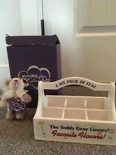 Annette Funicello's 6 Pack of beary licious fun box with Grape Swizzle 5 in bear