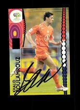 Khaud Boulahrouz  Holland Panini Card WM 2006 Original Signiert+ A 158176