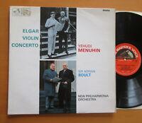 ALP 2259 Elgar Violin Concerto Yehudi Menuhin Adrian Boult EXCELLENT HMV Mono LP