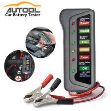 12V Automotive Car Battery Tester LCD Digital  6-LED indication Test Analyzer