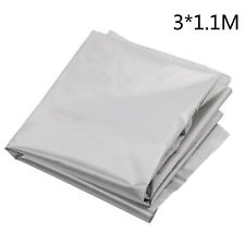 Emf Blocchi & RF Rfid Schermatura Argento Tessuto Rotolo 3 1.1m Elastico Tessuto