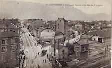 France Grenoble - Le Cours Berriat et la Rue du Polygone old unused postcard
