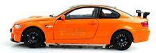 BMW M3 GTS 1/24 Orange Diecast Car Model V578