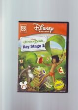 DISNEY LEARNING : THE JUNGLE BOOK KEY STAGE 1 - DISNEY'S PC GAME - VGC